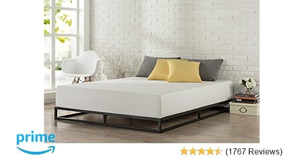 Amazon.com: Zinus Modern Studio 6 Inch Platforma Low Profile Bed ...