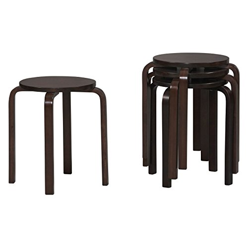 s, set of 4, wenge finish, 17 inch seat height ()