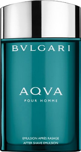 Bvlgari Men's AQVA Pour Homme After Shave Emulsion 3.4 oz N/A After Shave
