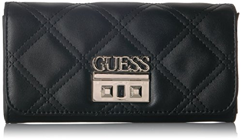 Flap Organizer (GUESS Status Large Flap Organizer Wallet, Black)