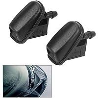 Boquilla para limpiaparabrisas para Ford Focus MK 3 para Mondeo C-max Fiesta MK 5 con forma de ventilador