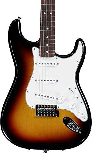 Fender Standard Stratocaster Electric Guitar - Rosewood Fingerboard, Brown Sunburst