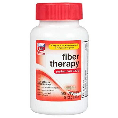 Rite Aid Fiber Therapy Capsules – 160 ct
