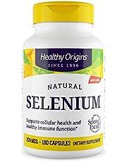 Healthy Origins Selenium Seleno Excel No Fillers 200 MCG, 180 Count, White