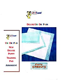 Deluxe Puppy Training Pads 2x Absorbent 300ct 17x24\