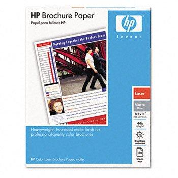 HP® Color Laser Matte Brochure Paper PAPER,BROCHUR,A,150PK,MAT (Pack of5) by HEW-IS