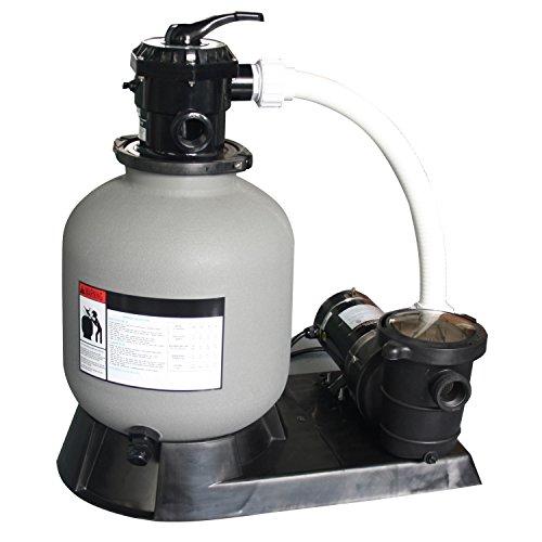 Splash Pools 19'' Sand Filter and Pool Pump with 1HP Motor by Splash Pools