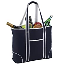 Picnic at Ascot Large Insulated Tote, Navy