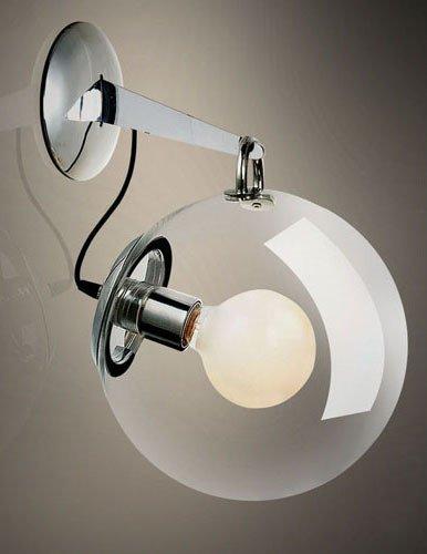 Nilight(TM)25cm Clear Transparent Glass Shade Miconos Bubble Wall Lamp Light Lighting