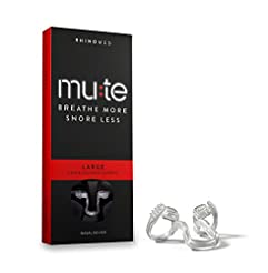 Rhinomed Mute Nasal Dilator for Snoring ...