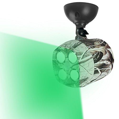 TRAIL WATCHER Deer Feeder Light Hog Hunting Green Light Spotlight PIR Motion Sensor 120