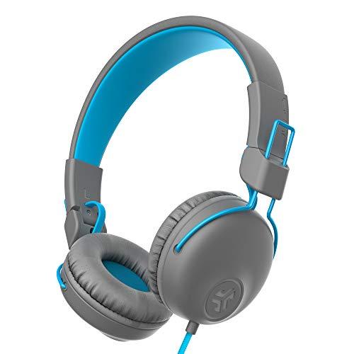 JLab Audio Studio Hoofdtelefoon bedraad met C3 kristalhelder geluid, ultra-pluche kunstleer en Cloud Foam kussens, op je…