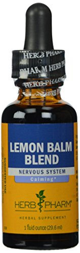 090700000844 - Herb Pharm Lemon Balm Extract for Calming Nervous System Support - 1 Ounce carousel main 0