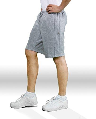 Michaelax-Fashion-Trade -  Pantaloni sportivi  - Basic - Uomo Silber melange (070) 66