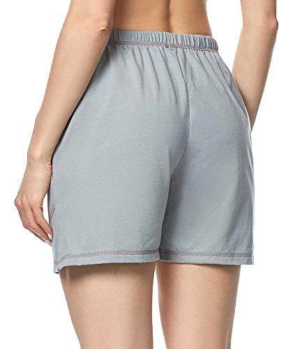 003 MPP del Merry Pigiama Grigio 2 Style Donna Pantaloncini wX7qqYxf