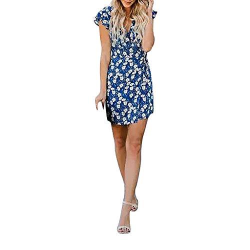 41c67f397 Bodas Moda Casual Cortos ☀azul Fiesta Vectry De Para 2019 Vestidos Verano  Mujer Largos Elegantes YxPpnv4qwT