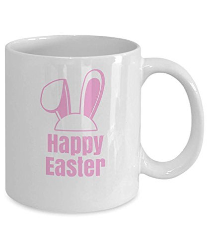 Personalised happy easter mug bunny ears mug happy easter gift save negle Choice Image