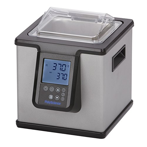 (PolyScience WB02A11B Digital General Purpose Water Bath, 2 L Capacity, 120V/60 Hz)