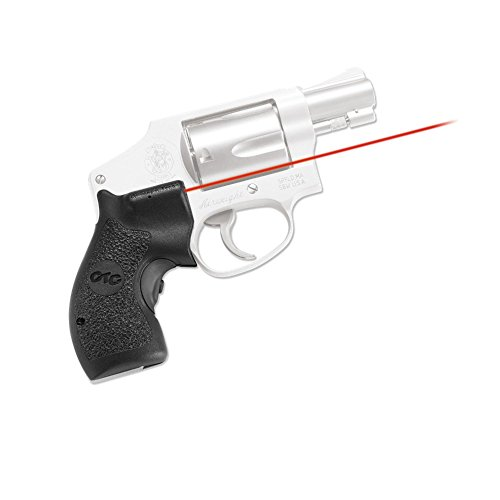 Crimson Trace LG-105-S Smith & Wesson, J Frame Round Butt-Polymer Grip, Overmold, Front Activation, Clam Pack