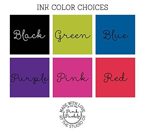 Ink Color Choices made our list of personalized camping gifts for people who camp in tents and those who have RV campers!