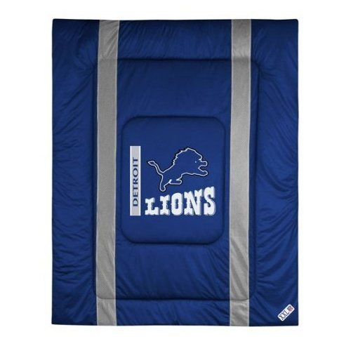 NFL Detroit Lions Sideline Comforter (Sidelines Twin Comforter)