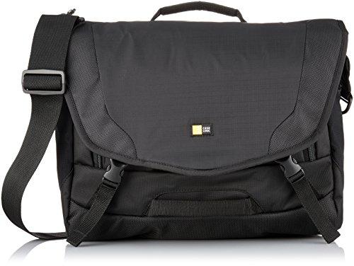 Case Logic DSM-103 Large DSLR with iPad Messenger Bag (Black) by Case Logic