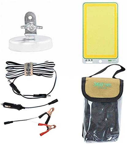 LSS-MDS Outdoor Lighting, DC12V 150W COB LED Camping Portable Night Lantern Outdoor Light Two Color for Garden Road Car Fishing Nice Led