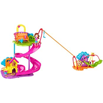 Polly Pocket Wall Party Pet Park Playset