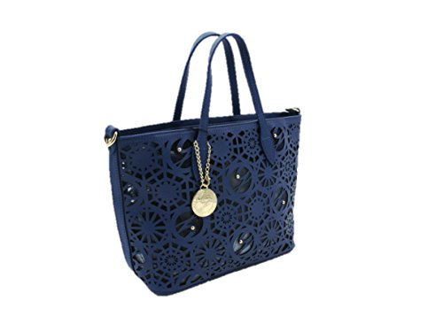 Borsa modello shopping Gattinoni Roma 6273 blu