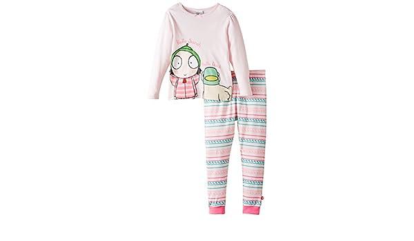 Sarah & Duck Hello Sarah and Duck Pyjamas - Pijama para niñas, Color Rosa - Pink, Talla 12 Meses: Amazon.es: Ropa y accesorios