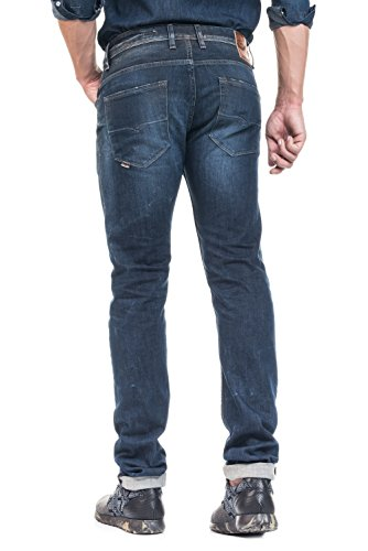 Salsa - Jeans Lima tapered délavage moyen - Homme