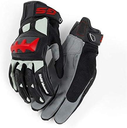 BMW Genuine Motorcycle Motorrad Rallye Glove Color: Black Grey Red Size: EU 8 8 12 US 8 8 12