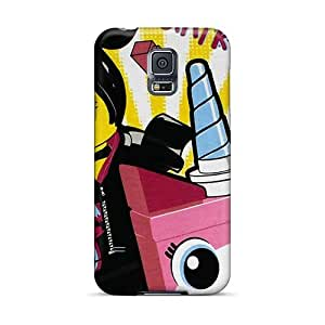 Excellent Hard Phone Cover For Samsung Galaxy S5 With Provide Private Custom HD The Lego Movie Skin SherieHallborg