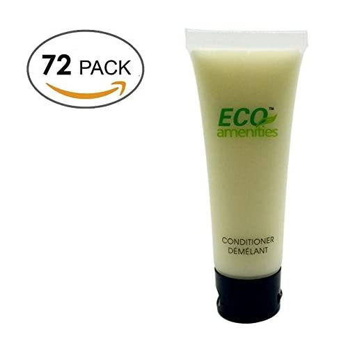 ECO-AMENITIES-Transparente-Tubo-Flip-Cap-Envueltas-Individualmente-30ml-Acondicionador-72-Tubes-per-Caso