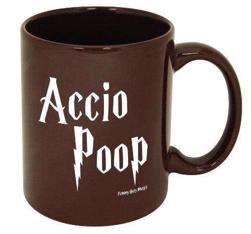 Accio Poop Mug-Harry Potter