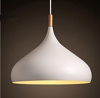 Moderna techo colgante Casquillo E27 - Lámpara LED de techo ...