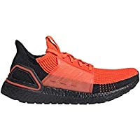 adidas Men's Ultraboost 19 Running Shoes (Solar Red / Core Black / Solar Red)