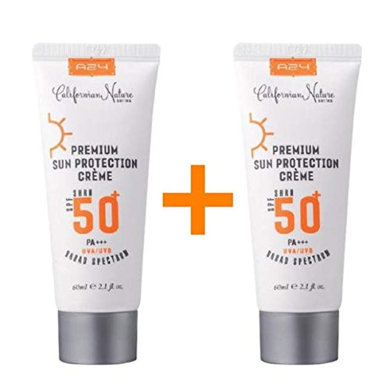 囲いミニ概して[1 + 1 ] A24 プレミアム サン プロテクション クリーム 60ml (SPF50+/PA+++) / Premium Sun Protection Cream/米国コスメ 米国日焼け止め