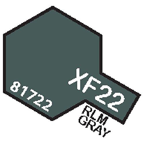 XF22 MIN RLM Grey - 10ml jar of Tamiya Color Mini Acrylic Paint
