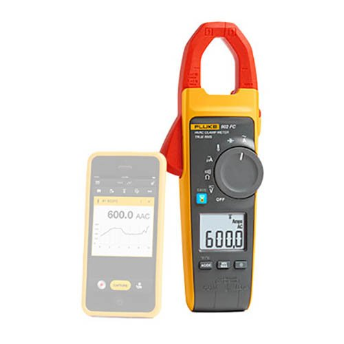 Best Fluke Clamp Meter For HVAC: Fluke 902FC