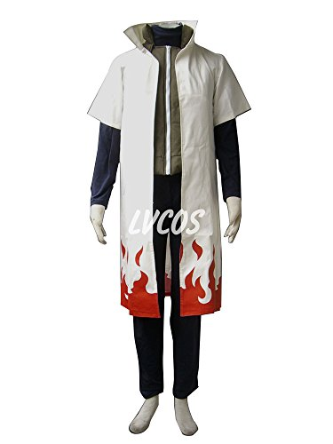 Neji Cosplay Costume (Naruto Fourth Hokage 1st Gen Cosplay Costume)