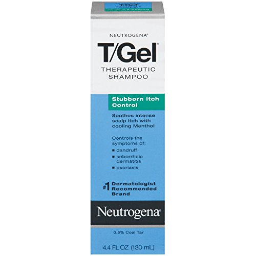 Neutrogena T / Gel Shampooing, Obstiné contrôle Itch, 4,4 once