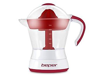 Beper Exprimidor eléctrico 90.304H/RED Capacidad 500 ml: Amazon.es: Hogar