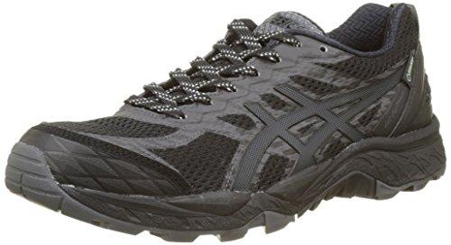 Nero black Scarpe G silver Running dark Donna Asics Fujitrabuco Steel 5 Tx T0nqCn8Z