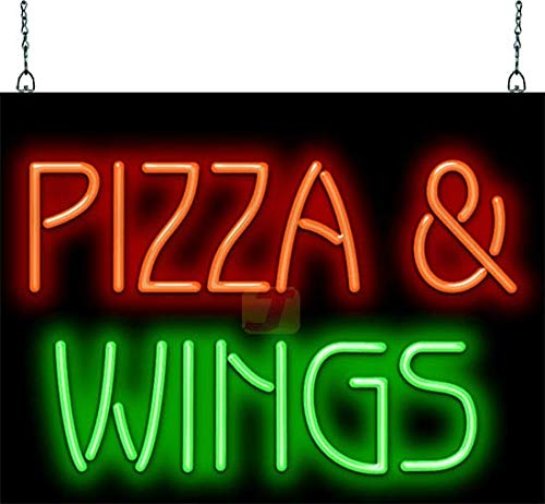 Pizza & Wings Neon Sign ()