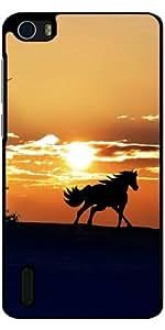 Funda para Huawei Honor 6 - Caballo En La Puesta Del Sol by WonderfulDreamPicture