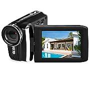 Vmotal Video Camera 1080P Camcorder Vlogging Camera for YouTube, Digital Camera Recorder 270 Degree Rotation Flip Screen…