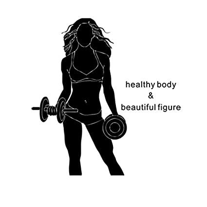Amazoncom Fangeplus R Diy Removable Fitness Woman Lifting
