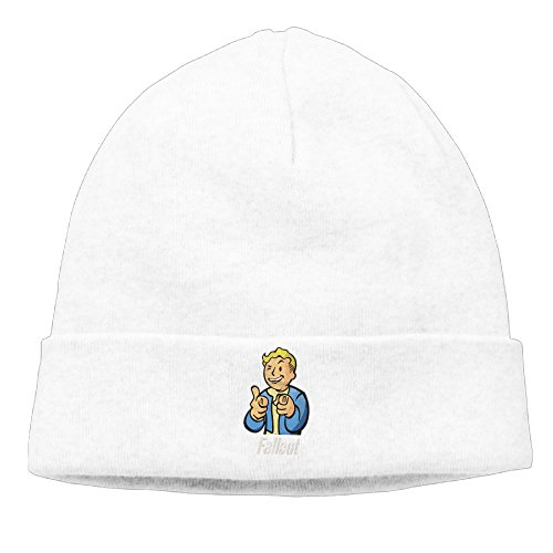 Fallout Vault Boy Vintage Heather Cap Ski Winter Hats