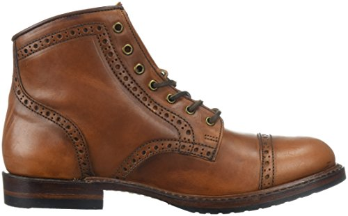 Frye Mens Logan Brogue Cap Toe Combat Boot Sella